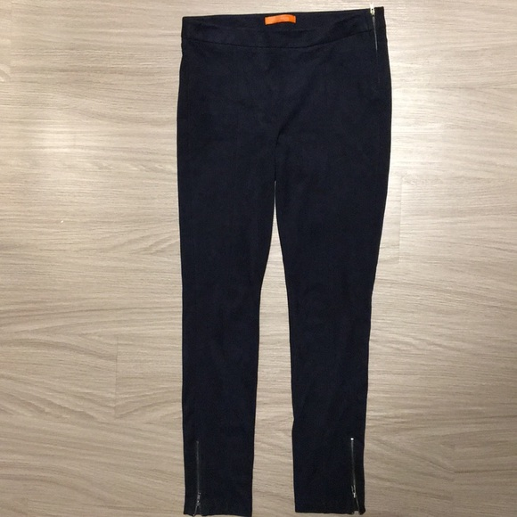 501504e68cb6d Joe Fresh Pants | Dark Blue Faux Suede Leggings | Poshmark